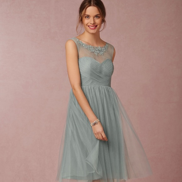 7c44c56b338c Jenny Yoo Dresses | Bhldn Chloe Dress Agean Opal | Poshmark
